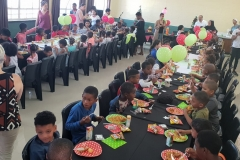 Christmas party held for the kids from Khamvaletu Drop In Centre 2019